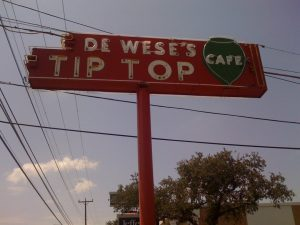 Love the old neon sign out front!