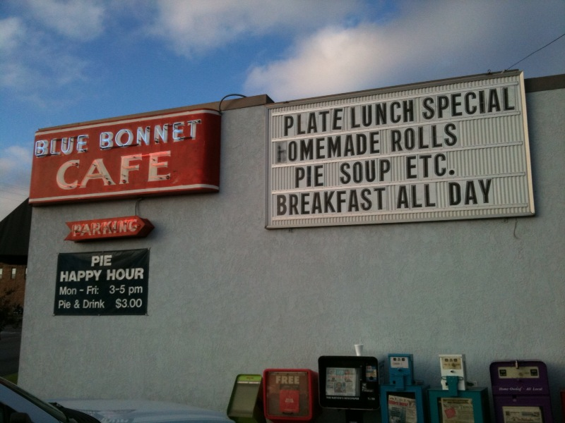 Blue Bonnet Cafe (Marble Falls)