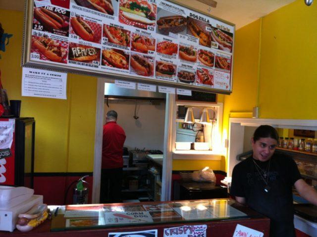 King's Court Frankfurter Express Hot Dogs San Antonio