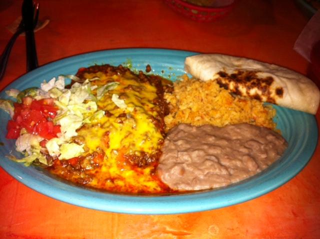 Pericos Restaurant: Parrot Tails and Enchiladas