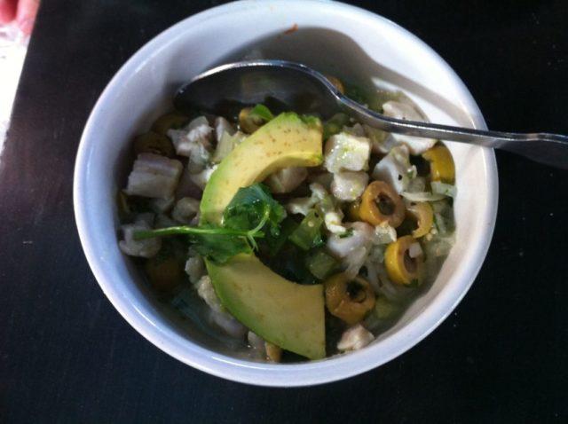 La Gloria Ceviche Verde Mexican Food
