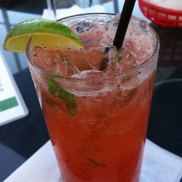 El Mirasol Strawberry Mojito San Antonio Mexican Food