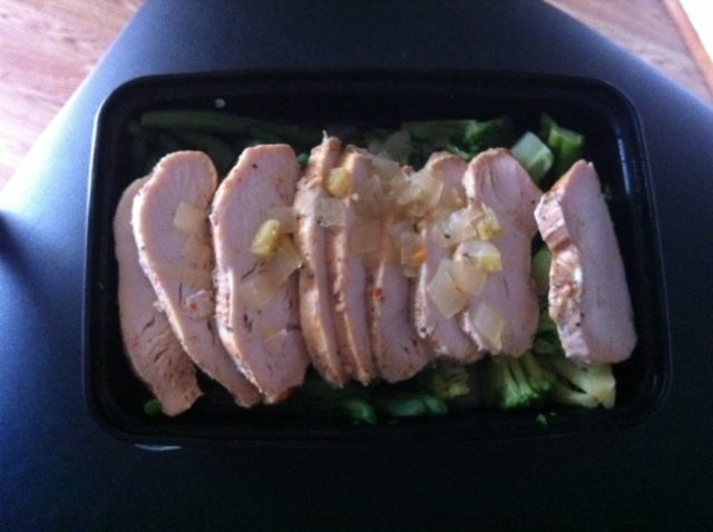 My Fit Foods 21 Day Challenge Ginger Chicken