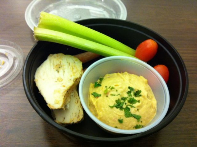 My Fit Foods 21 Day Challenge Hummus Bowl