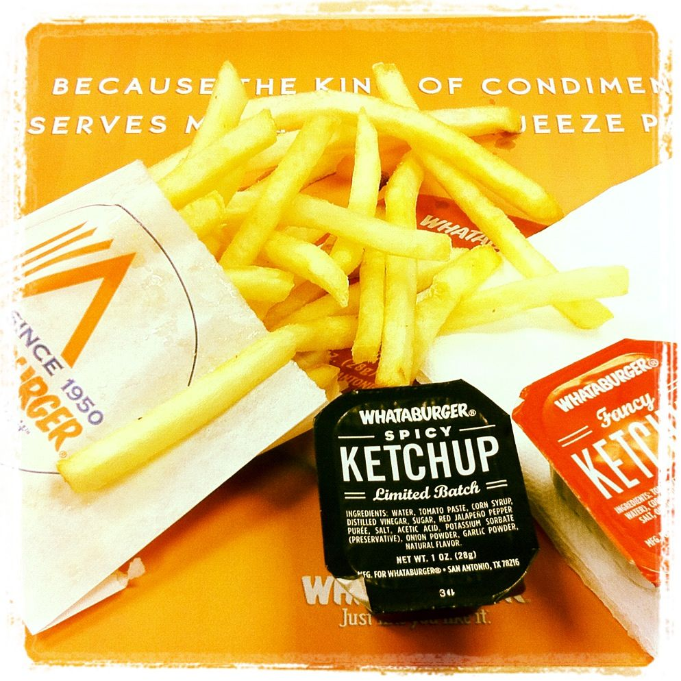 Review of Whataburger's Spicy Ketchup
