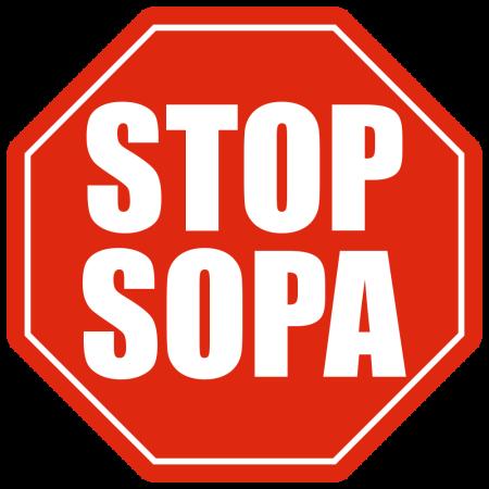 San Antonio, Stop SOPA (the US Bill, not soup)!