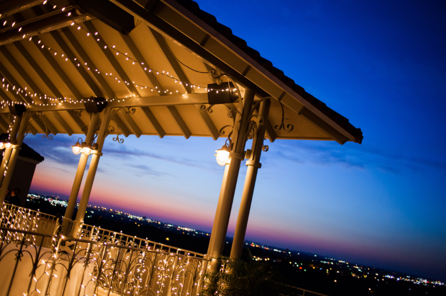 Rooftop terrace at The Bushnell - photo by Tyler Schmitt