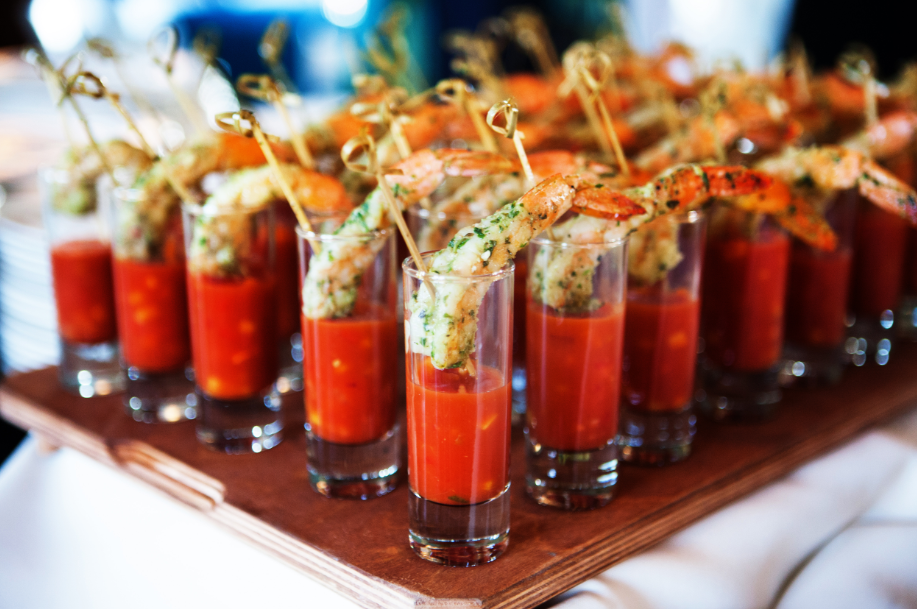 Shrimp tequila shooters from True Flavors - photo by Tyler Schmitt