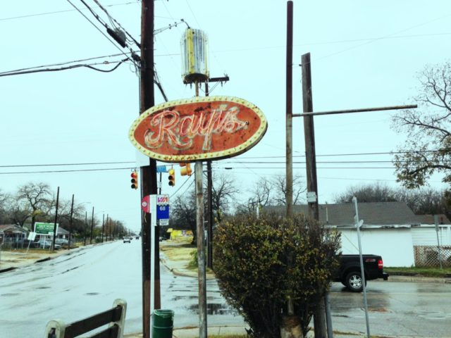 Ray's Drive Inn - the birthplace of the puffy taco.
