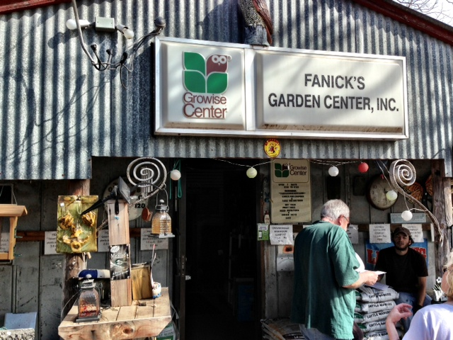 You will find any plant that you could possible want at Fanick's Garden Center.