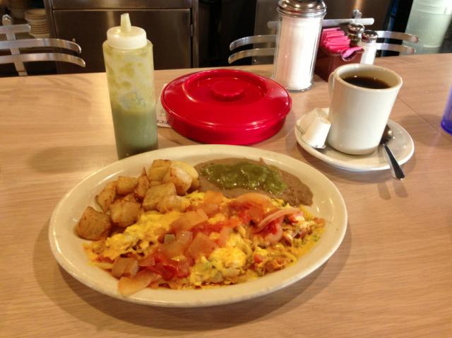 Chilaquiles, San Antonio Breakfast, Mexican Breakfast