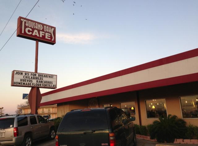 Thousand Oaks Cafe, Mexican Food, San Antonio Breakfast