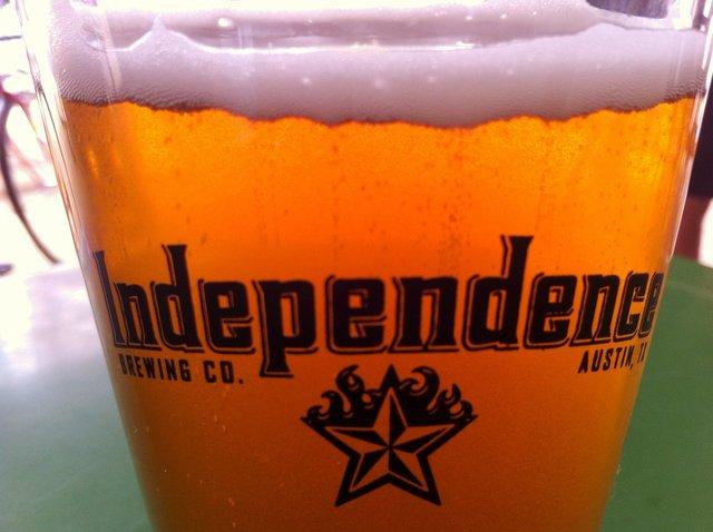 Independece Brewing Company, Pale Ale, Texas Beer, Austin Beer