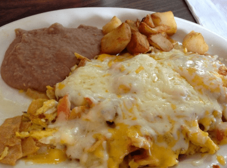 Thousand Oaks Cafe, Mexican Breakfast San Antonio, Chilaquiles