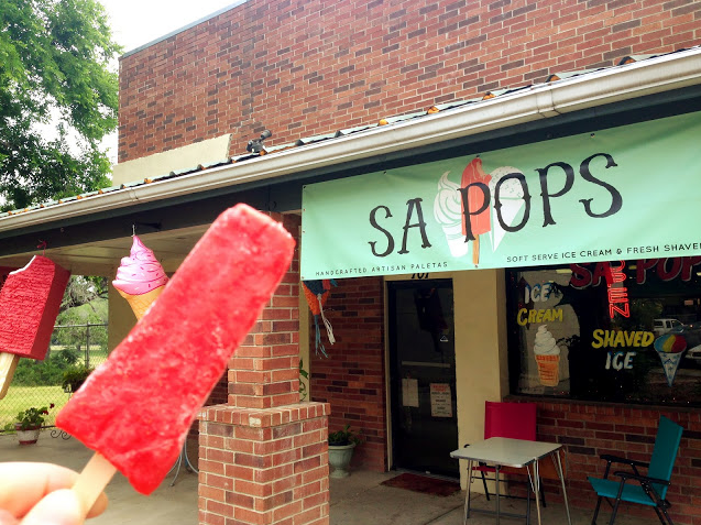 SA Pops, Paletas, Popsicles, Strawberry