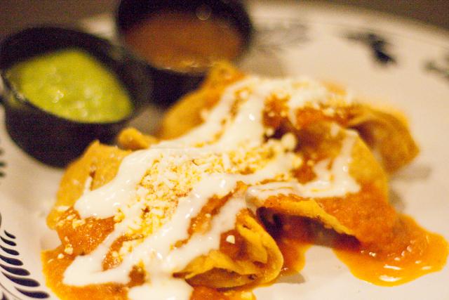 Tacos Dorados La Gloria