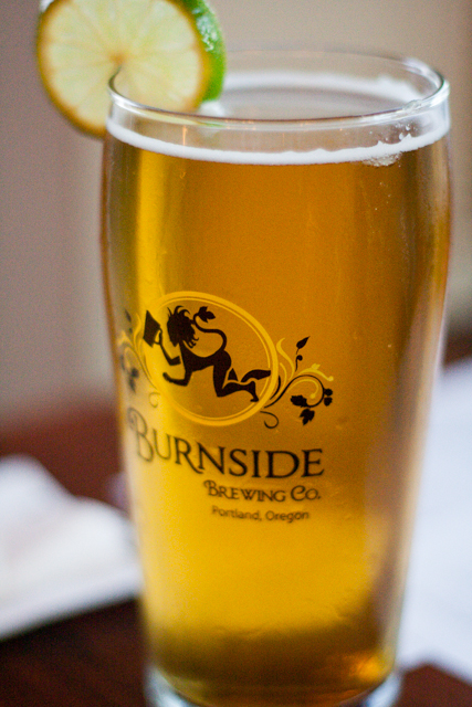 Portland Burnside Brewing Co Lime Kolsch