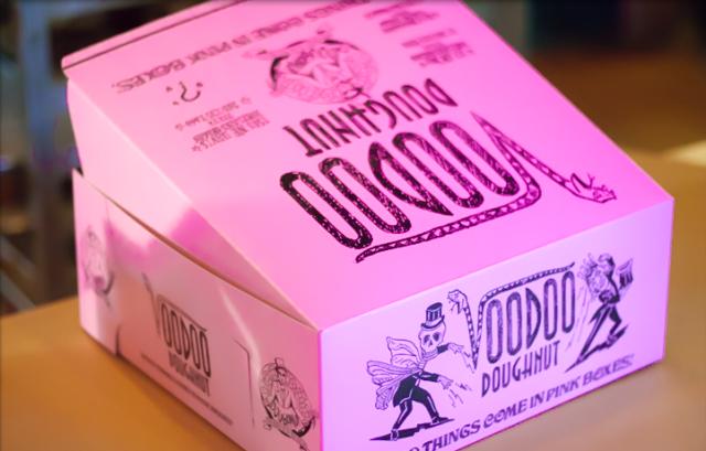 Portland Voodoo Doughnuts Box