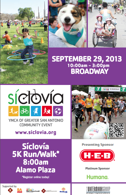 Play in the Street with Siclovia: Sept 29