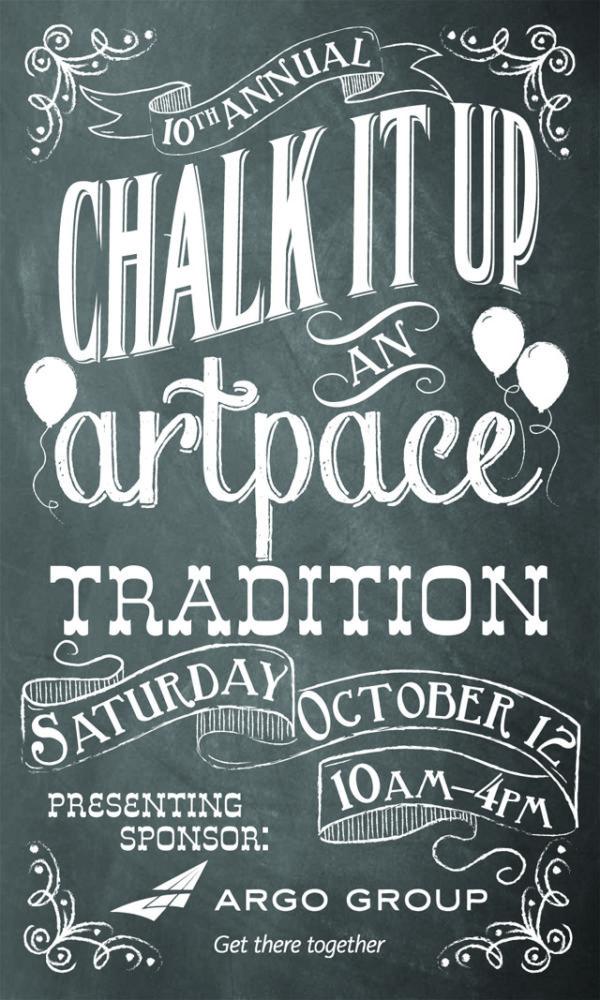 ArtPace Chalk It Up: Oct 12