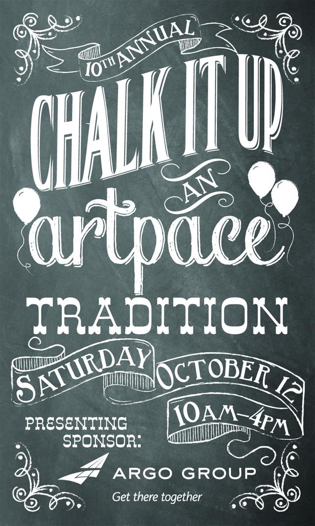 ArtPace Chalk It Up 2013