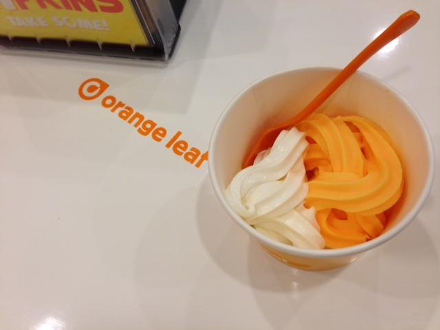 Orange Leaf Dreamsicle