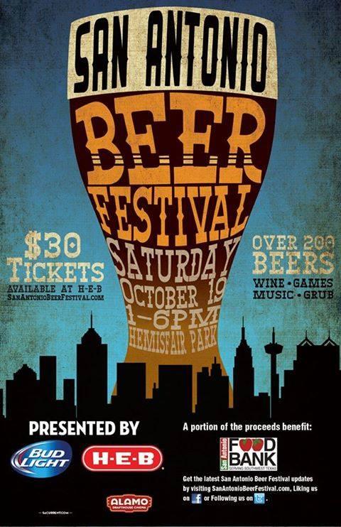SA Beer Festival: Oct 19