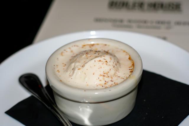 Boiler House Eggnog Creme Brulee