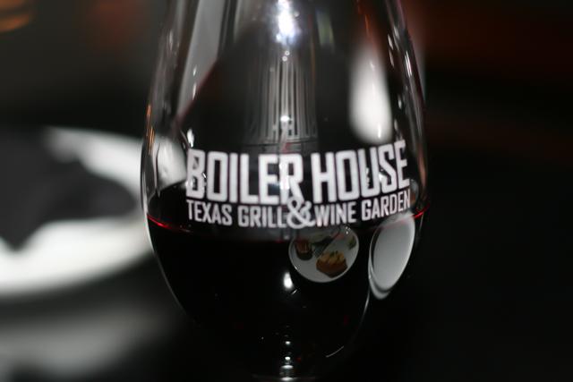 Boiler House Wine Glass