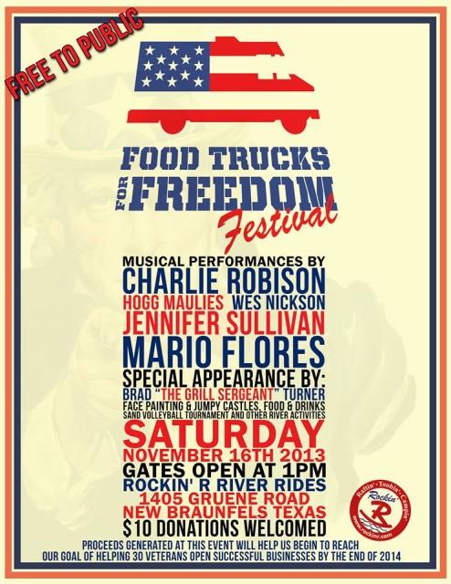 Food Trucks for Freedom Nov 16