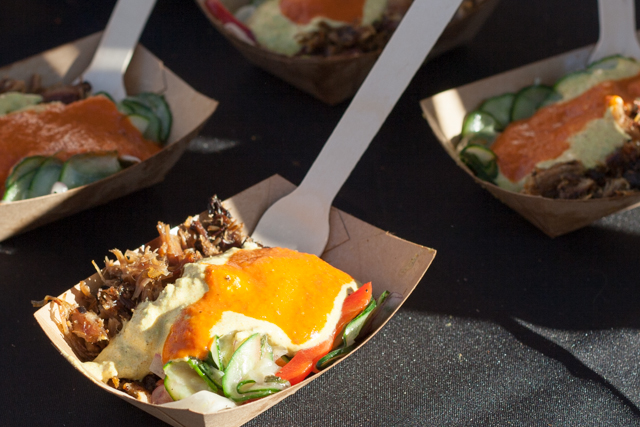 Chef John Fink's Lamb Neck with Chermoula Sauce at Meatopia Texas [VIDEO]