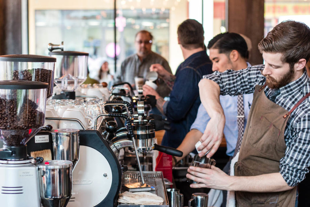 Local Coffee: The Gathering Place at Pearl Brewery