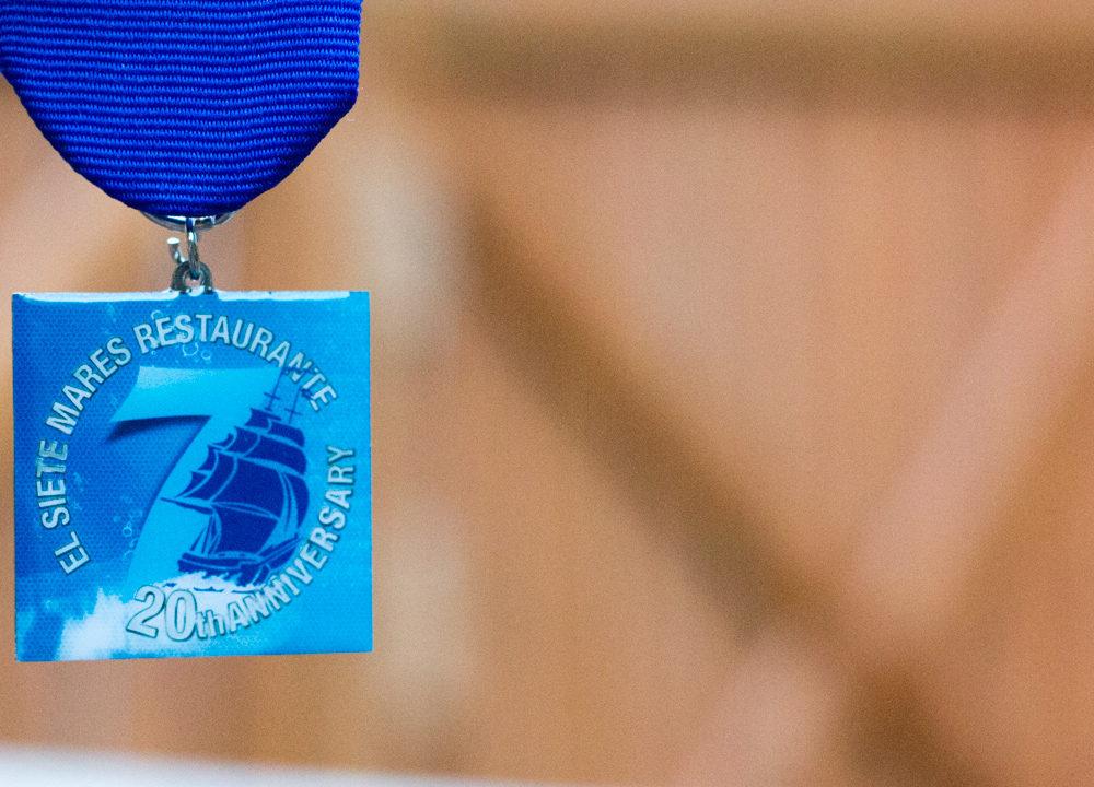 El Siete Mares: 2014 Fiesta Medal