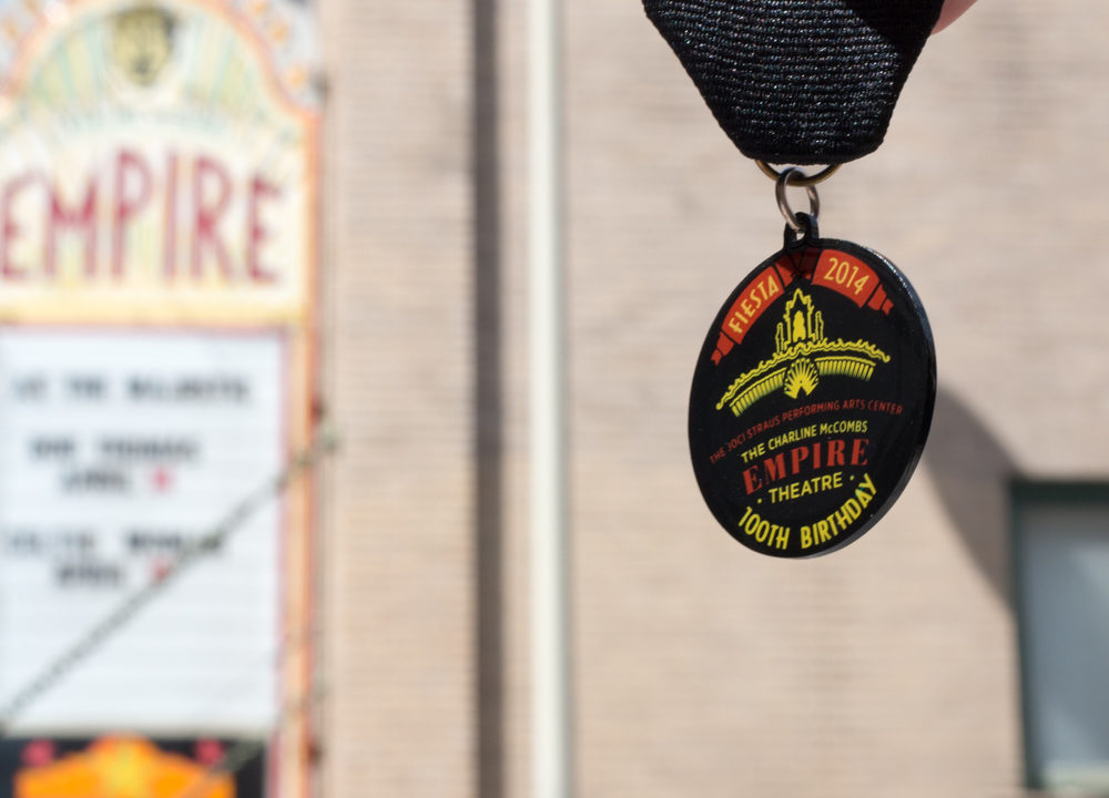 Charline McCombs Empire Theater: 2014 Fiesta Medal