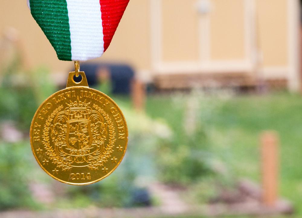 Rey Feo LXVI: 2014 Fiesta Medal