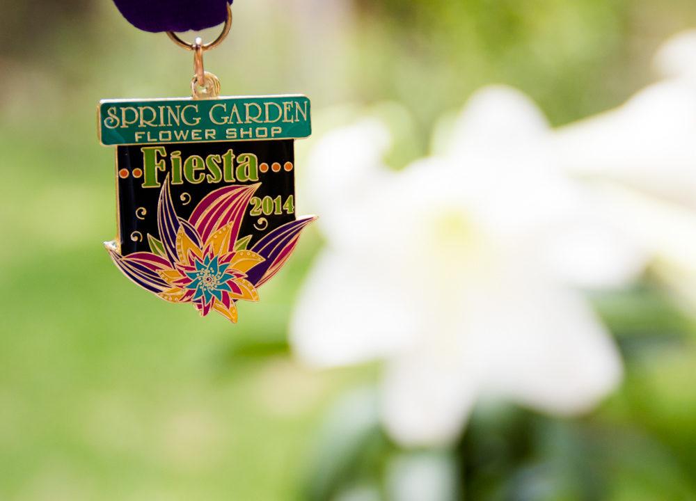 Spring Garden Flower Shop: 2014 Fiesta Medal