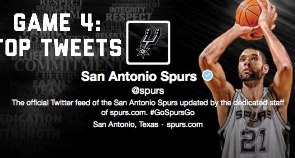 Top Tweets from Spurs-Mavericks Game 4