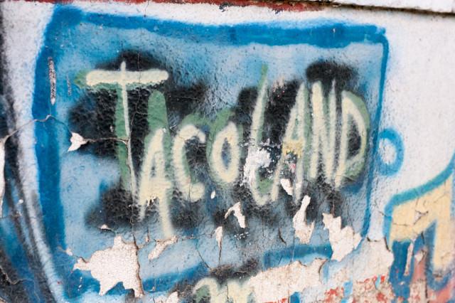 Taco Land Graffiti