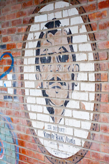 Taco Land- Ram Ayala Mural Brick