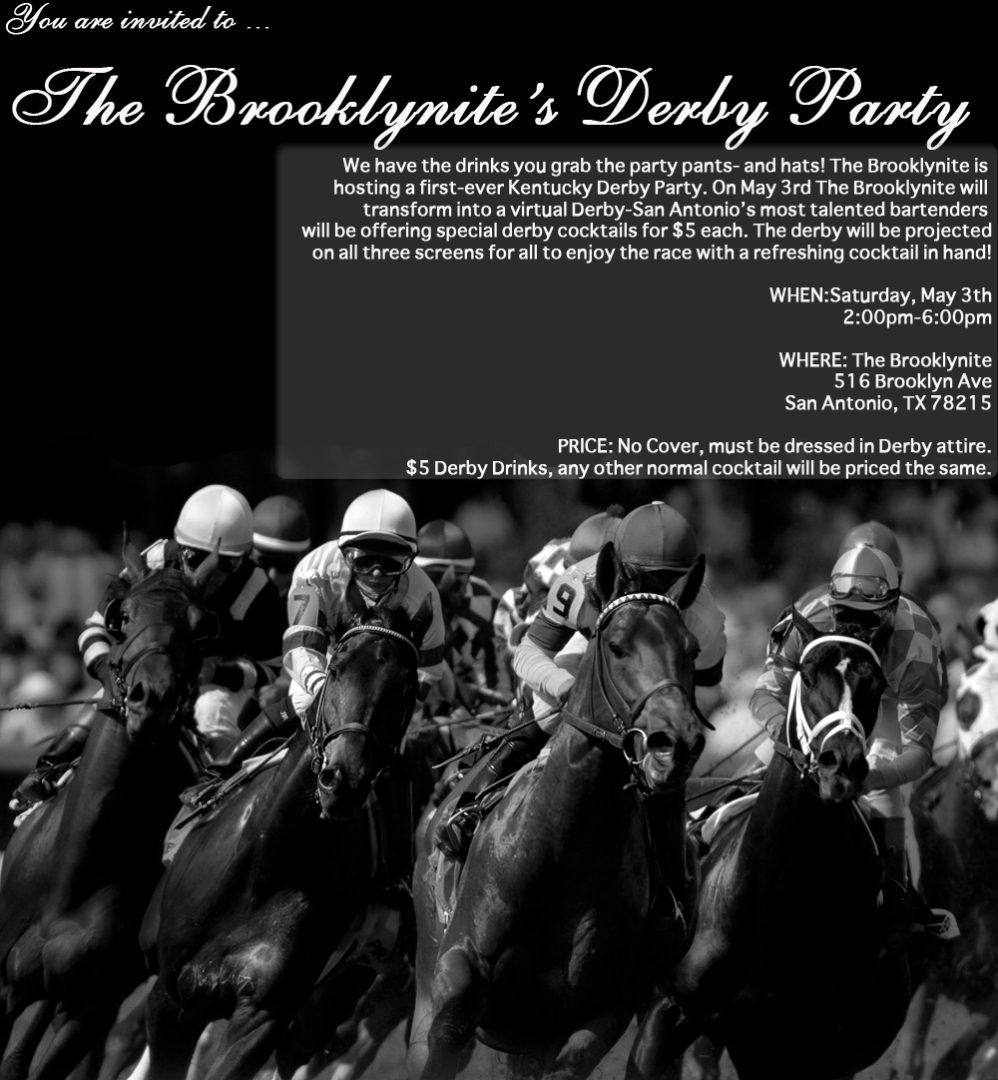 Brooklynite Derby Party: May 3