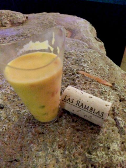 Culinaria 2014 Grand Tasting Gazpacho from Las Ramblas
