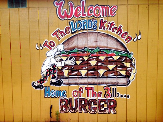 Lord's Kitchen San Antonio Burger 3 Pound