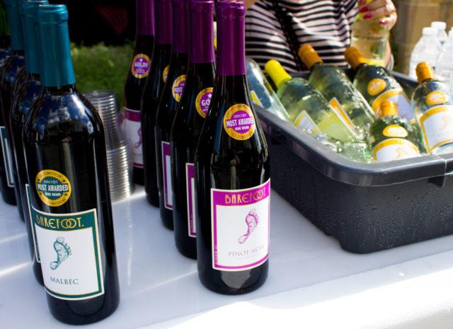 Barefoot Wine at Culinaria Jazz Brunch 2014