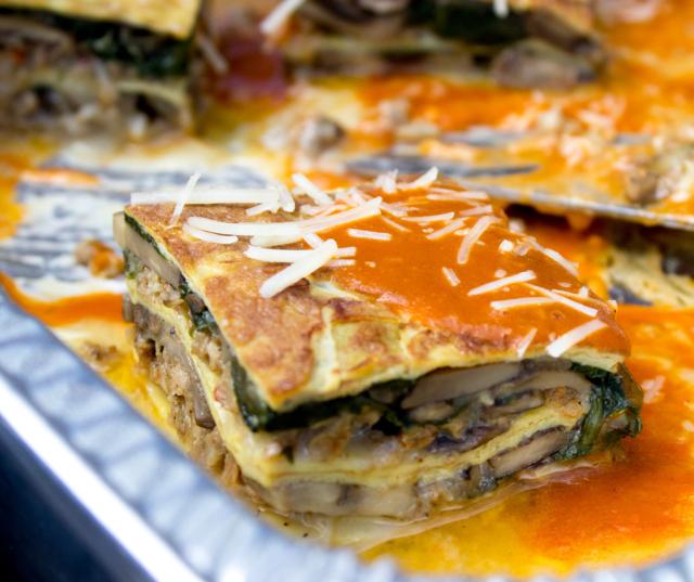 Breakfast Lasagna at Culinaria Jazz Brunch 2014