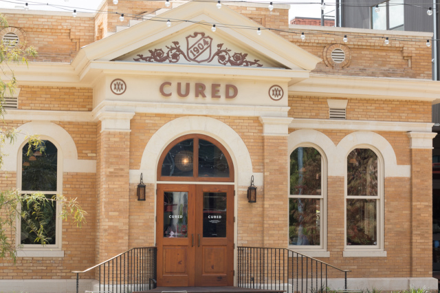 Cured Restaurant Exterior