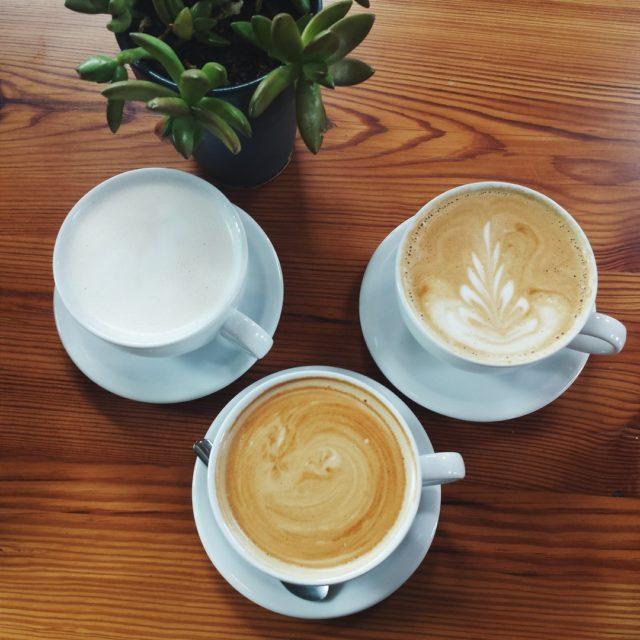Rosella Coffee Co Lattes