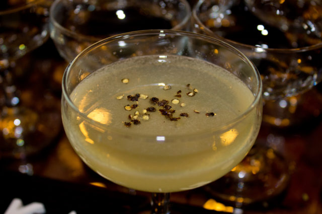 Black Peppercorn Gimlet, SA Cocktail Conference, SACC2015, Waldorf on the Prairie