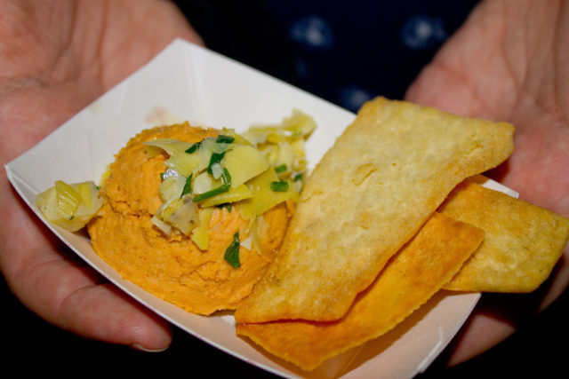 Garlic Hummus, SA Cocktail Conference, SACC2015, Waldorf on the Prairie
