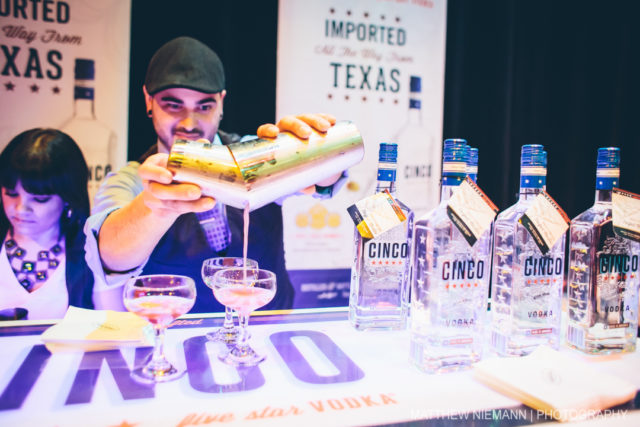Cinco Vodka at SA Cocktail Conference Opening Party