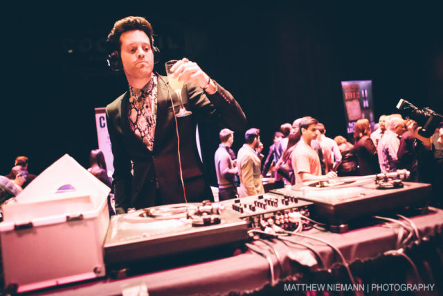 Mayer Hawthorne Spinning the Jams at SA Cocktail Conference Opening Party